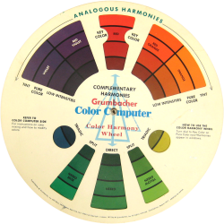color computer wheel - side a